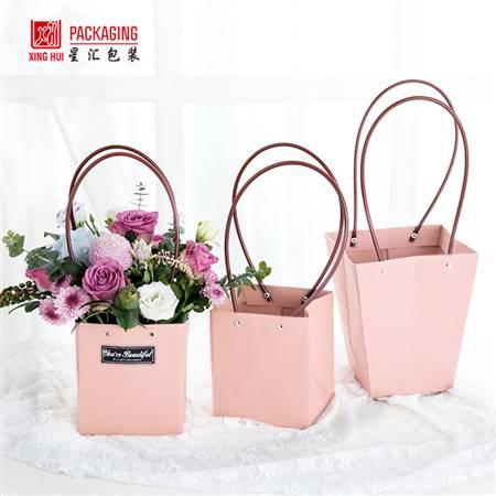 牛皮袋-粉色